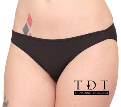 Rene Rofe Micro Denier Classic Bikini Brief - 327-BLK1 Panty Panties Underwear