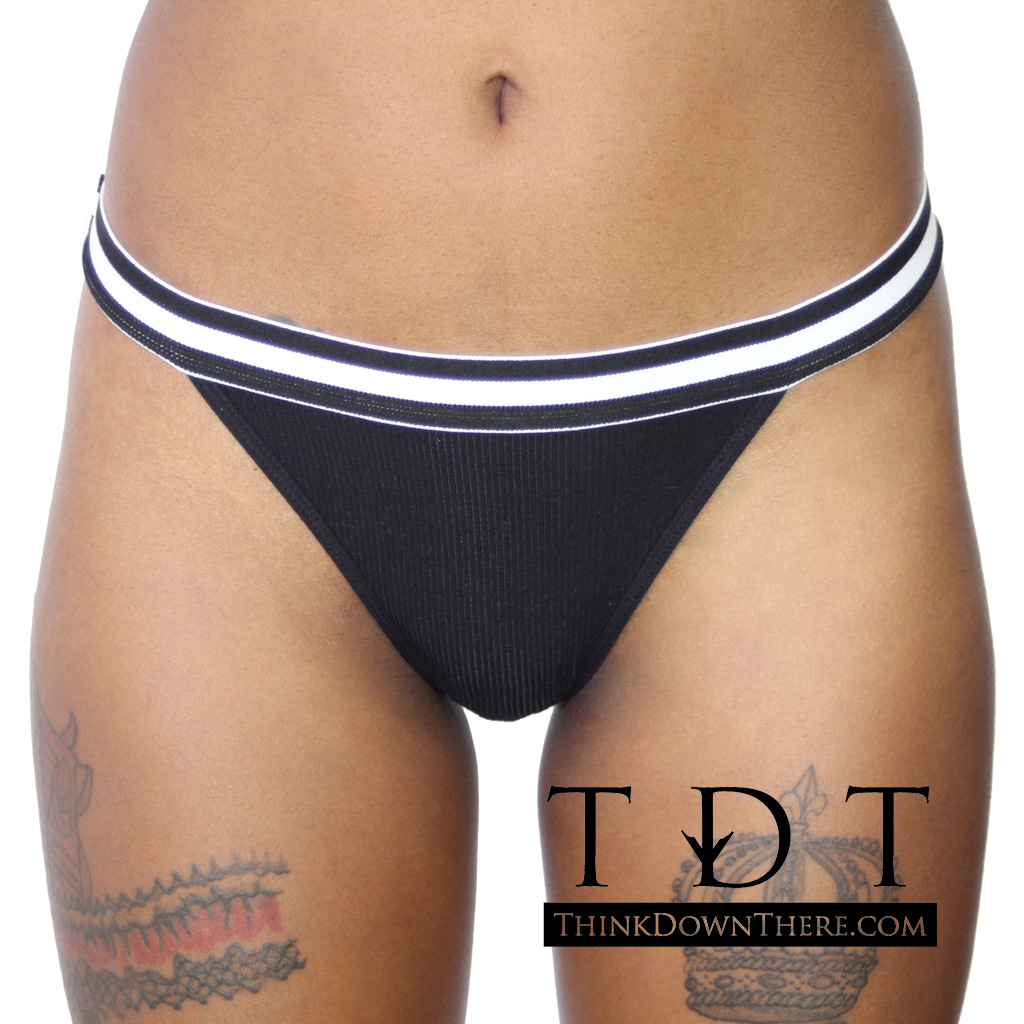 """Rene Rofe """"Out of Touch"""" Thong Underwear - P127074"""