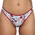 Rene Rofe Cotton Spandex Thong - 12206-H172 Panty Panties Underwear