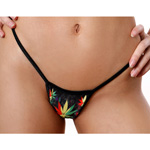 Body Zone Melting Pot Low Back Tee Thong - 1165MP