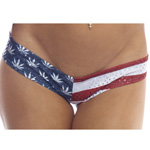 Body Zone American Pot Super Micro Shorts - AP007