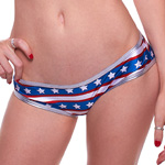 Body Zone Patriotic Perfect Panty -  PA191154 | 6 Prints Available