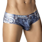 CLEVER Indigo Jean Latin Brief - 5200 Underwear