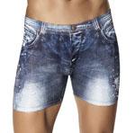 CLEVER Indigo Jean Boxer Brief - 2200 Underwear