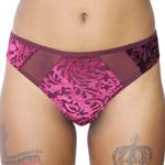 Rene Rofe 'Velvet Nights' Thong - P126944 Panty Panties Thong Underwear - 2-Colors Available