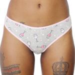 Rene Rofe Cotton Spandex Thong - 12206-J230 Panty Panties Underwear