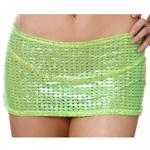 Body Zone Shiny Mesh Tube Skirt - 1730SM | 2 Colors Available