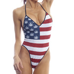Body Zone American Pot High Hip Bodysuit - AP015