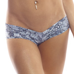 Body Zone Lace Print Super Micro Shorts - LP007