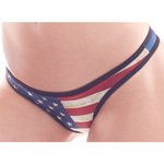 Body Zone Patriotic Perfect Thong - PA181159 | 7 Prints Available