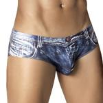 CLEVER Indigo Jean Latin Brief - 5200 Underwear