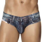 CLEVER Denim Jean Latin Brief - 5201 Underwear